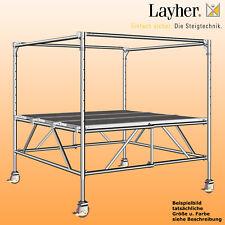 Layher Staro Rollbock 7000 Fahrgerüst Rollgerüst Fertiggerüst Ah = 2,80-3,90m