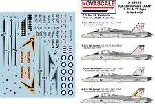 RAAF F/A-18B Hornet 3,75&77Sqn Decals 1/32 Scale N32035