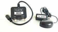 TV EYE BOX  IO-Link Box RF Modulator Output Plus a Black Magic Eye Fits Sky HD