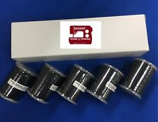 Genuine Brother Embroidery Bobbin Thread, Black #60,1100 metres,5 PACK XC5520001