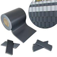 2,54€/m² PVC Sichtschutz Streifen Doppelstabmatten Zaun Folie Plane Windschutz