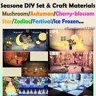 FULL DIY Set  Cherry Blossom/ Mush/ Maple/ Festival/ Frozen/ Star/ Zodiac