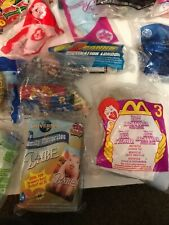 lot of 46 new Disney and other McDonalds figures toys Aladdin Tinkerbell story
