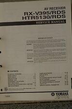 Service Manual für Yamaha RX-V395RDS / HTR5130RDS