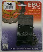Suzuki GSF600 Bandit (1995 to 2004) EBC Kevlar REAR Disc Brake Pads (FA63) 1 Set