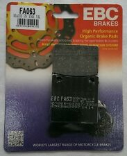 Suzuki SV650/S (1999 to 2002) EBC Organic REAR Disc Brake Pads (FA63) (1 Set)