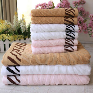 Cy_ 100% Bamboo Fiber Rayon Ultra Soft Absorbent Thick Big Long Bath Towel Trend