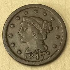 1847 Large Cent - Fine