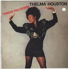 Throw You Down by Thelma Houston (CD, 1990, Reprise) VERY GOOD / FREE SHIPPING