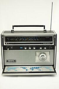 SONY CRF-5100 EARTH ORBITER 10 BAND VINTAGE SHORTWAVE RADIO EXCELLENT