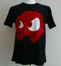 SALE New ALEXANDER MCQUEEN Large Black with Red Flocked Monster McQ T-Shirt-L-