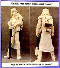 S. WARS SNOW/ICE TROOPER ARMOR  SET From My $5 Mail Order S. F. Prop Catalog .