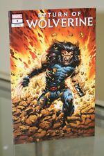 MARVEL COMICS RETURN OF WOLVERINE #1 AGE OF APOCALYPSE COSTUME VARIANT