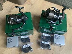 Shimano Ultegra 14000 Xtd Reels X2 Boxed With Spare Spools