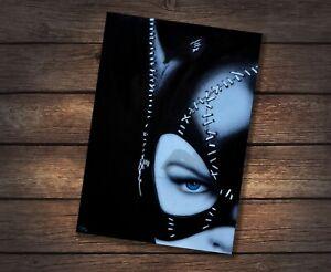 1992 Batman Returns Catwoman Michelle Pfeiffer A4 Artprint SIGNED BY ARTIST