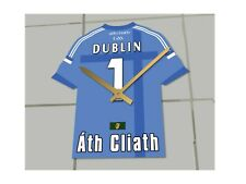 Personalised GAA Ireland Gaelic Football & Hurling Jersey Only Themed Clocks !!!
