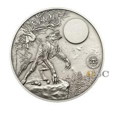 Palau 2013 10$ Werwolf - Mystische Kreaturen Serie 2oz .999 Fein Silbermünze