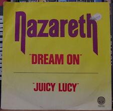 "NAZARETH DREAM ON 45t 7"" FRENCH SP"