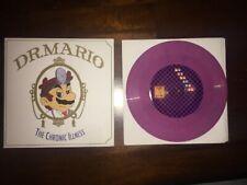 Dr. MARIO Video Game Vinyl Lp Soundtrack Ost Moonshake Purple Pill 33 Rpm 7 Inch