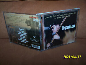 Bryan Lee CD Live At The Old Absinthe House Bar ... Saturday Night