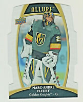 2019-20 Upper Deck Allure WHITE RAINBOW DIE CUT MARC-ANDRE FLERY Golden Knights