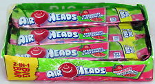 Airheads Big Bar 2 in 1 Strawberry Watermelon 24 ct bars Bulk Candy Candies