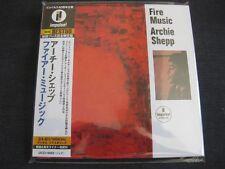 ARCHIE SHEPP, Fire Music, JAPAN CD Mini LP, UCCI-9092, Impulse, 24 bit remaster