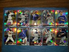 2017 BOWMAN CHROME BDC-1 YANKEES (45-CARD ROOKIE RETRACTOR STARTER LOT) WATERS