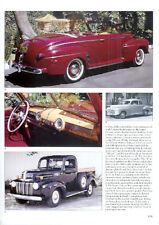 1942 Ford Article - Must See !! + Pickup Truck + Woody Wagon + Convertible