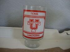 Vintage NCAA Texas Longhorns big beer glas cup mug