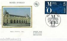 1986**ENVELOPPE SOIE**FDC 1°JOUR!!**LE MUSEE D'ORSAY**TIMBRE Y/T 2451