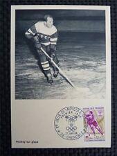 FRANCE MK 1968 OLYMPIA WINTER OLYMPICS MAXIMUMKARTE CARTE MAXIMUM CARD MC c1446