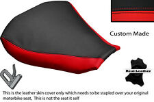 BLACK & RED CUSTOM FITS MV AGUSTA F4 1000 R 10-14 FRONT RIDER SEAT COVER ONLY