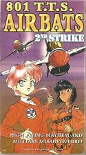 801 T.T.S. (TTS) Airbats  2nd Strike  VHS New Sealed  ADV Films  ANIME