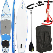 EXPLORER SUP 12'6 Board Stand Up Paddling Surfboard aufblasbar Paddel ISUP Paddl