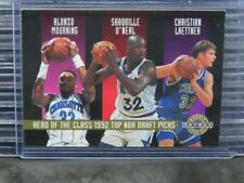1992 Skybox Mourning/Shaq O'Neal/Laettner/Ellis/Jackson/Gugliotta #/20000 C458