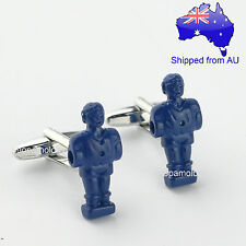Blue Boxing Dummy Cufflinks Cufflinks