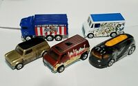 HOT WHEELS 2020 POP CULTURE LED ZEPPELIN E CASE COMPLETE 5 LOOSE CAR SET