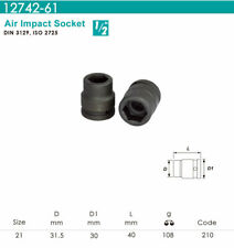 """Whirlpower - 1/2""""DR.x 21mm Air Impact Socket - Automotive Tools NEW"""