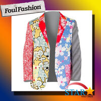 SALE Foul Fashion Mens Blazer 50% Off RRP Jacket For Party Holiday Gift Stag Do