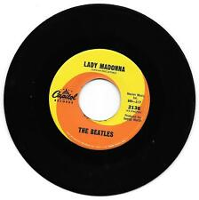 THE BEATLES - LADY MADONNA - CAPITOL - VG++ / EX