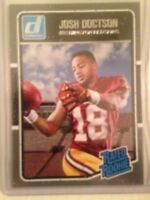 Josh Doctson  Rated Rookie Card By 2016 Donruss