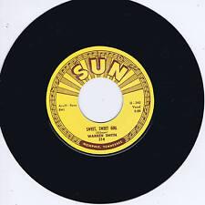 WARREN SMITH - SWEET SWEET GIRL / GOODBYE MR LOVE (Killer SUN label ROCKABILLY)