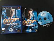 James Bond 007 Nightfire Play Station 2 PS2 Pal ESPAÑOL