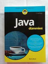 Java für Dummies von Barry Burd (2017, Taschenbuch)