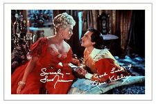 GENE KELLY & LANA TURNER THE THREE MUSKETEERS AUTOGRAPH SIGNED PHOTO PRINT