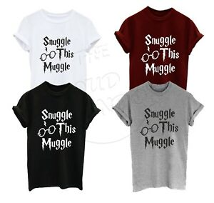 Snuggle This Muggle ||  Harry Potter Magic Unisex Tshirt Top Adults & Kids Sizes