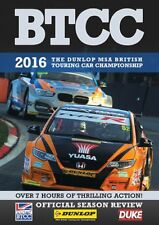 BTCC British Touring Car Championship - Official Review 2016 (2 DVD set) New