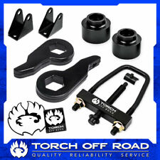 """3"""" Front 2"""" Rear Lift Kit For 2003-2010 Hummer H2 4X4 4WD Shock Extenders + Tool"""