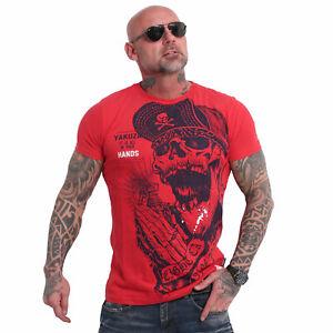 Neues Yakuza Herren Carnal T-Shirt – Ribbon Red